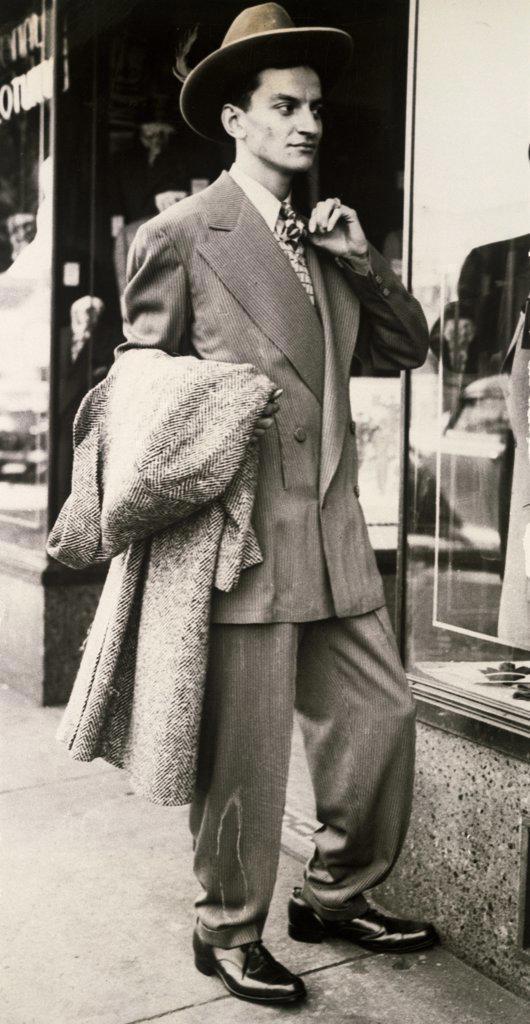 Stock Photo: 1035-302 Zoot-suit 1943