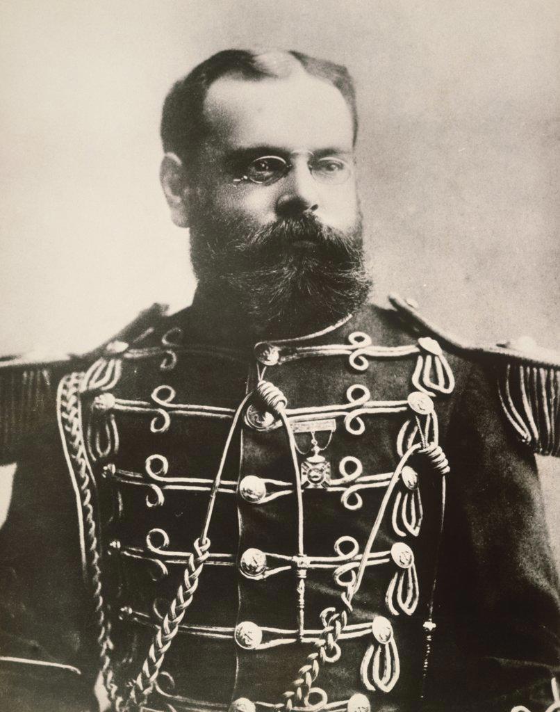 Stock Photo: 1035-365 John Philip Sousa, Bandmaster and Composer, 1893