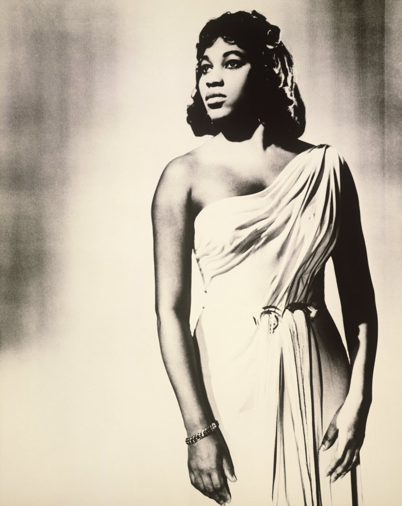 Stock Photo: 1035-377 Leontyne Price
