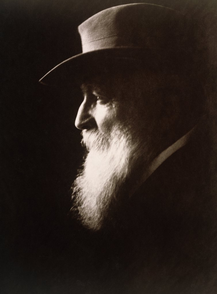 Stock Photo: 1035-452 Auguste Rodin, (1840-1917), French Sculptor