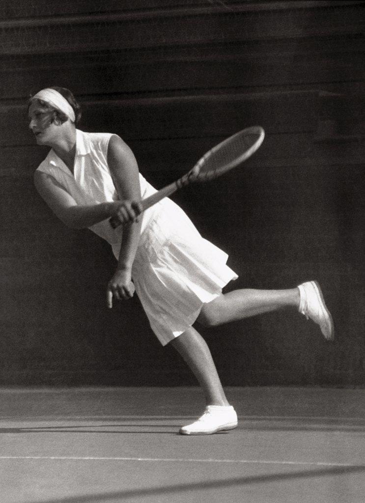 Kathleen McKane  (1896-1992) British Tennis Player   : Stock Photo