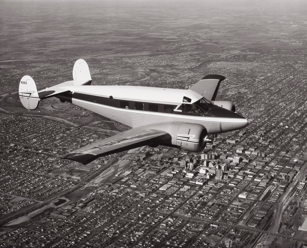 Beechcraft Super 18   : Stock Photo