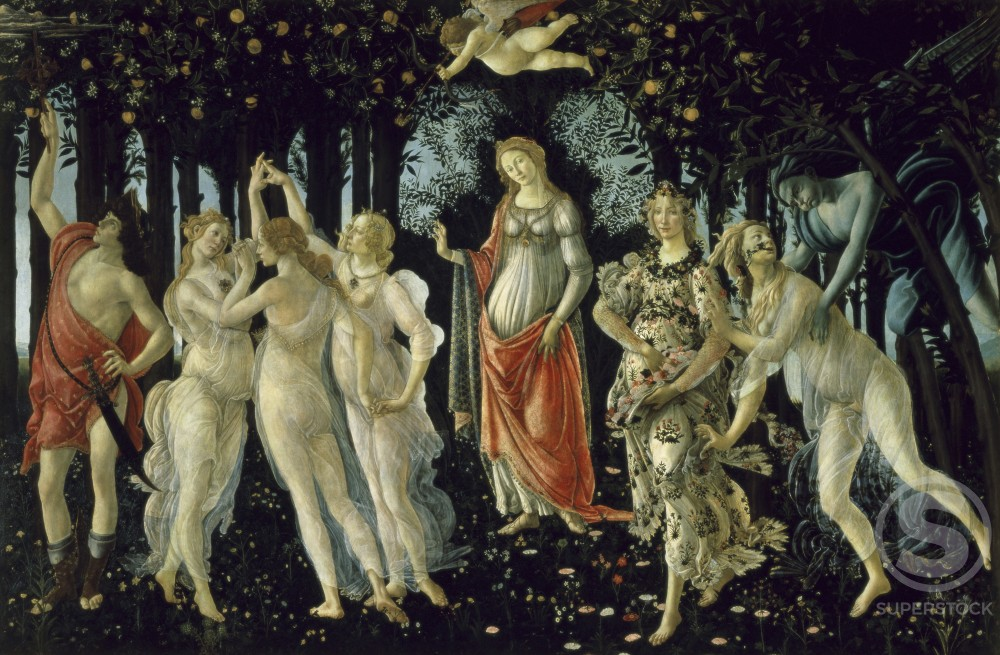 Stock Photo: 1039-15215 La Primavera