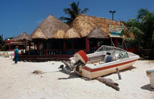 Coco Beach Isla De Mujeres Cancun Mexico : Stock Photo