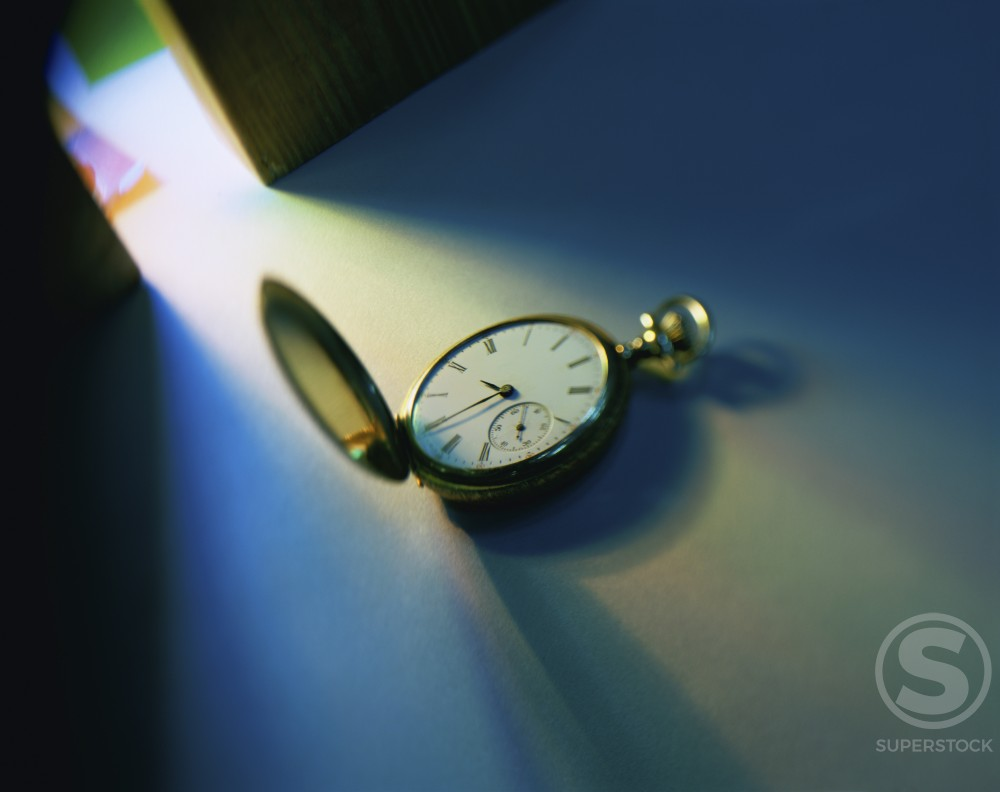 Stock Photo: 1042-1646A Close-up of a pocket watch