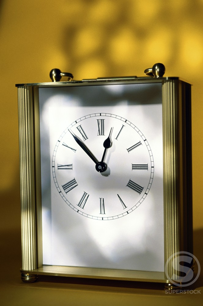 Close-up of a clock : Stock Photo