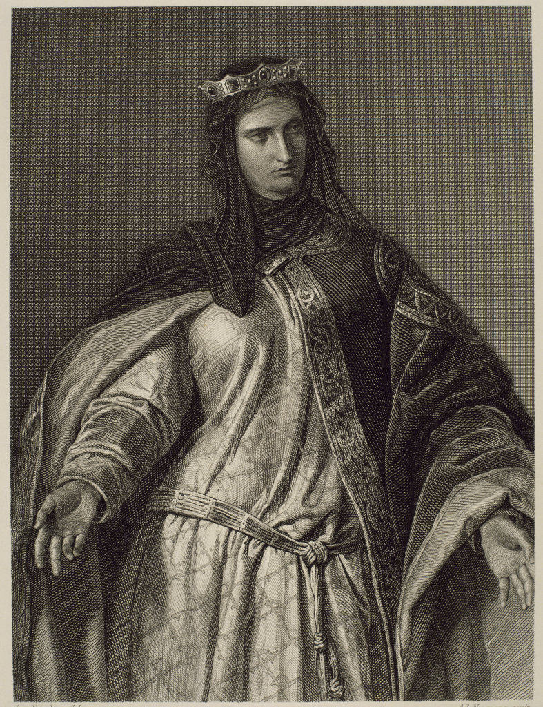 Queen Isabella I of Spain (1474-1504)  : Stock Photo