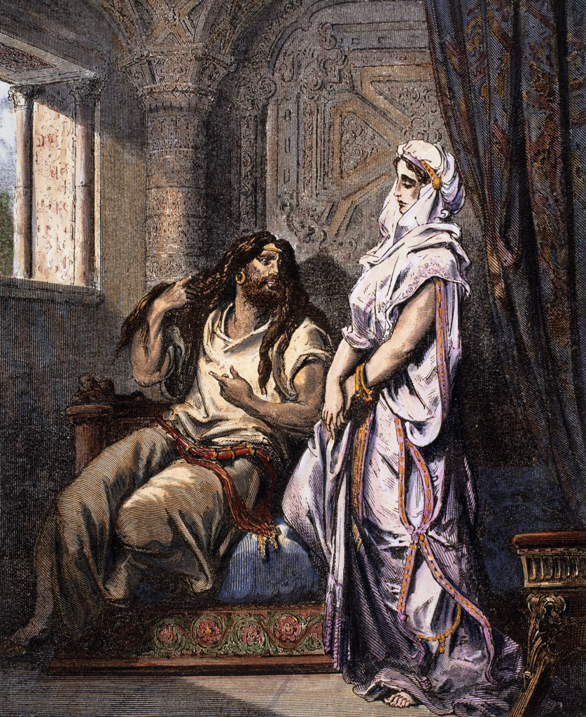 Stock Photo: 1047-127 Samson and Delilah 