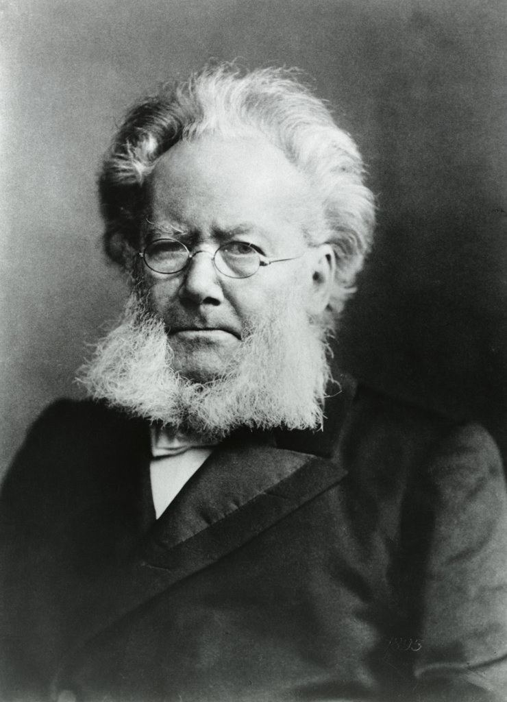 Stock Photo: 1047-135 Henrik Ibsen Norwegian Poet and Playwright (1828-1906)