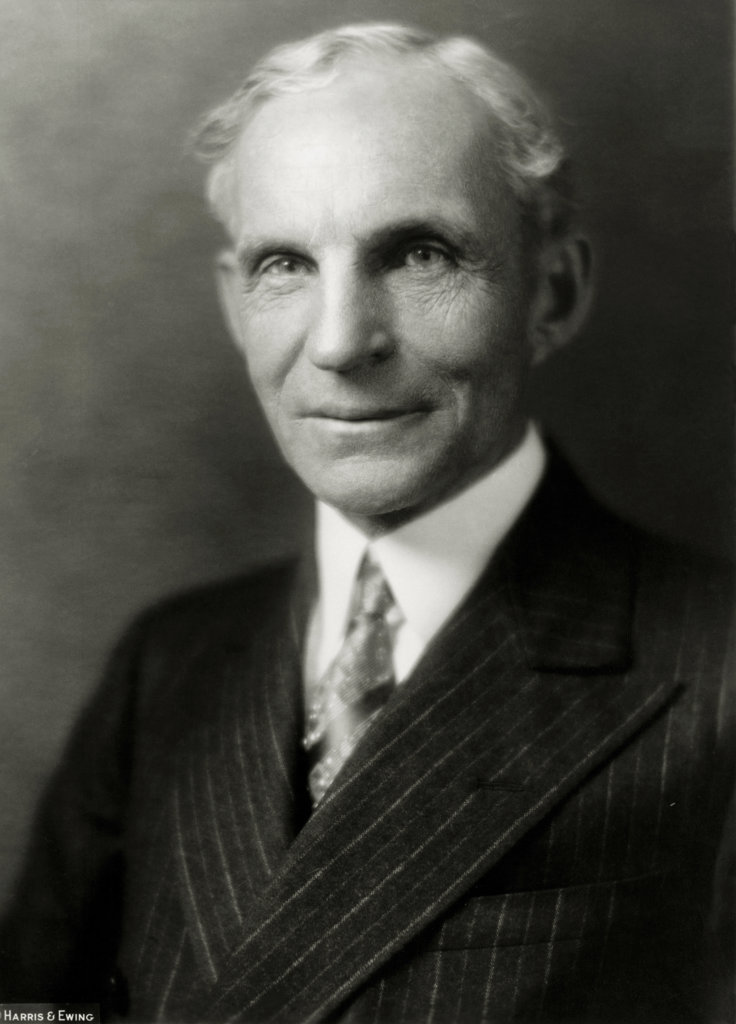 Stock Photo: 1047-139 Henry Ford, (1863-1947), American Industrialist