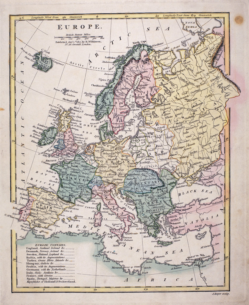 Stock Photo: 1047-177 Europe