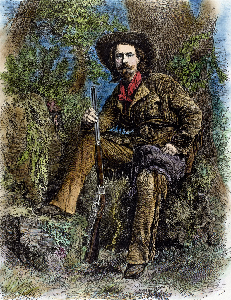 Buffalo Bill (1846-1917) (Born William F. Cody) Stock Montage, Inc.  : Stock Photo
