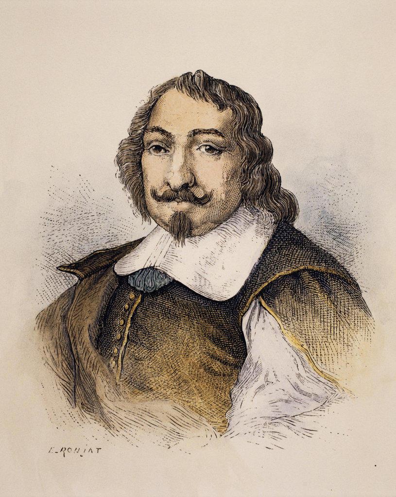 Samuel de Champlain  (ca. 1567-1635) French explorer  Stock Montage, Inc.  : Stock Photo