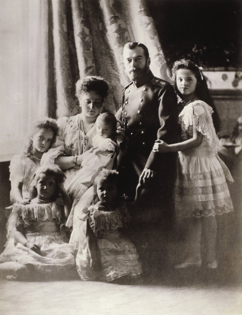 Czar Nicholas II of Russia and the Imperial Family 