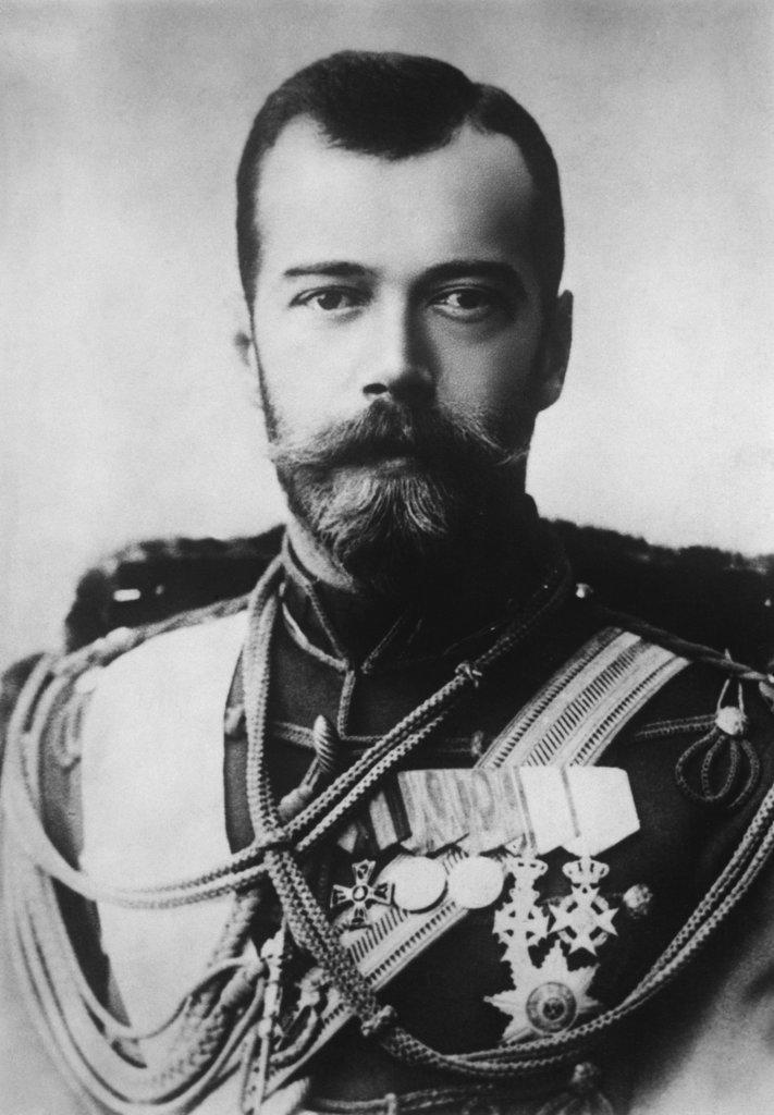 Stock Photo: 1047-345 Czar Nicholas II of Russia (1868-1917)