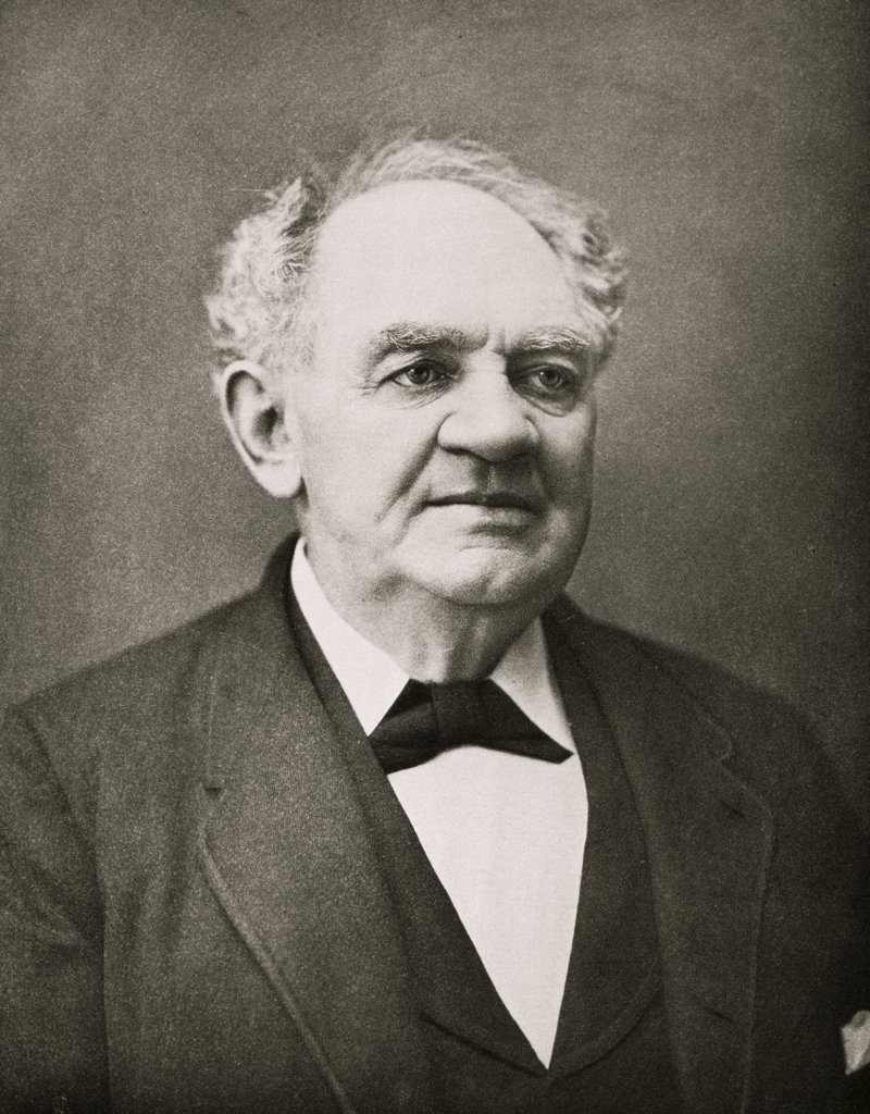 Stock Photo: 1047-564 Phineas Taylor Barnum (1810-1891)  American Showman Engraving