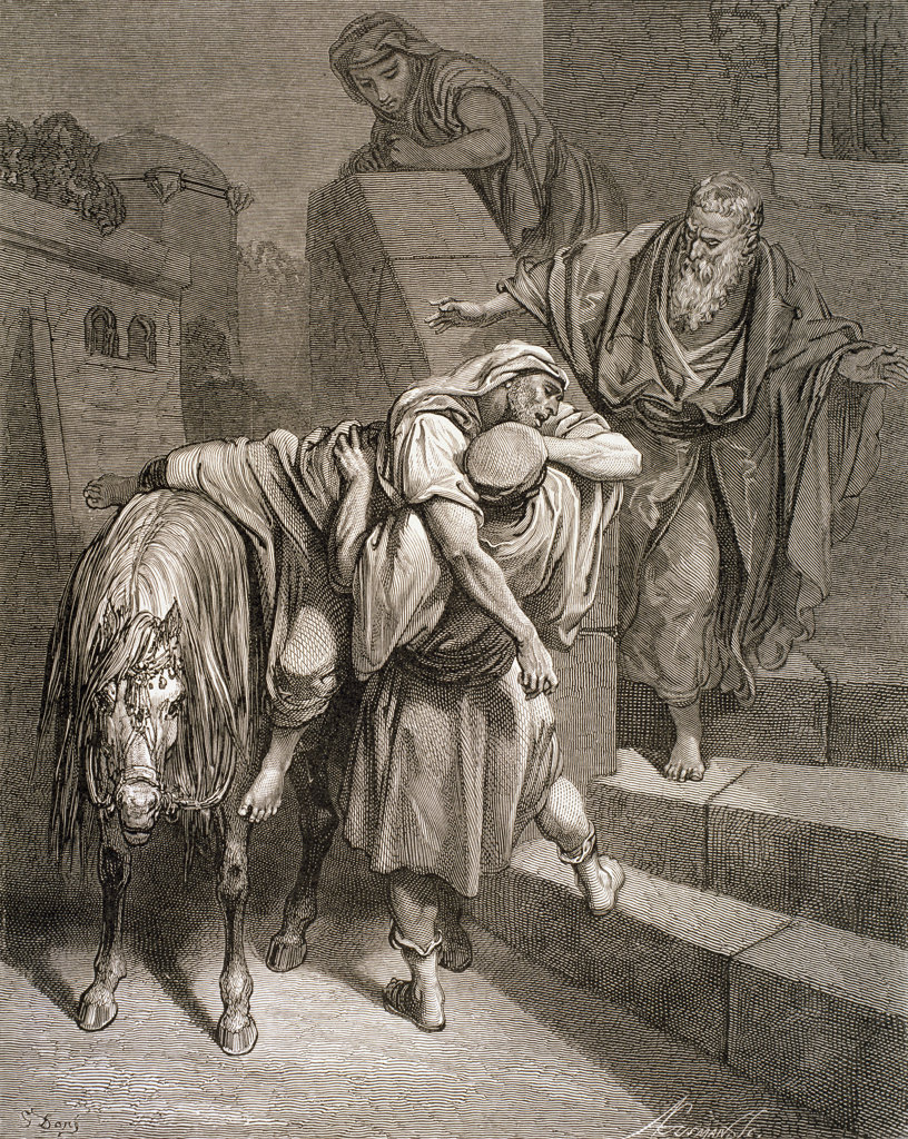 The Arrival of the Good Samaritan at the Inn