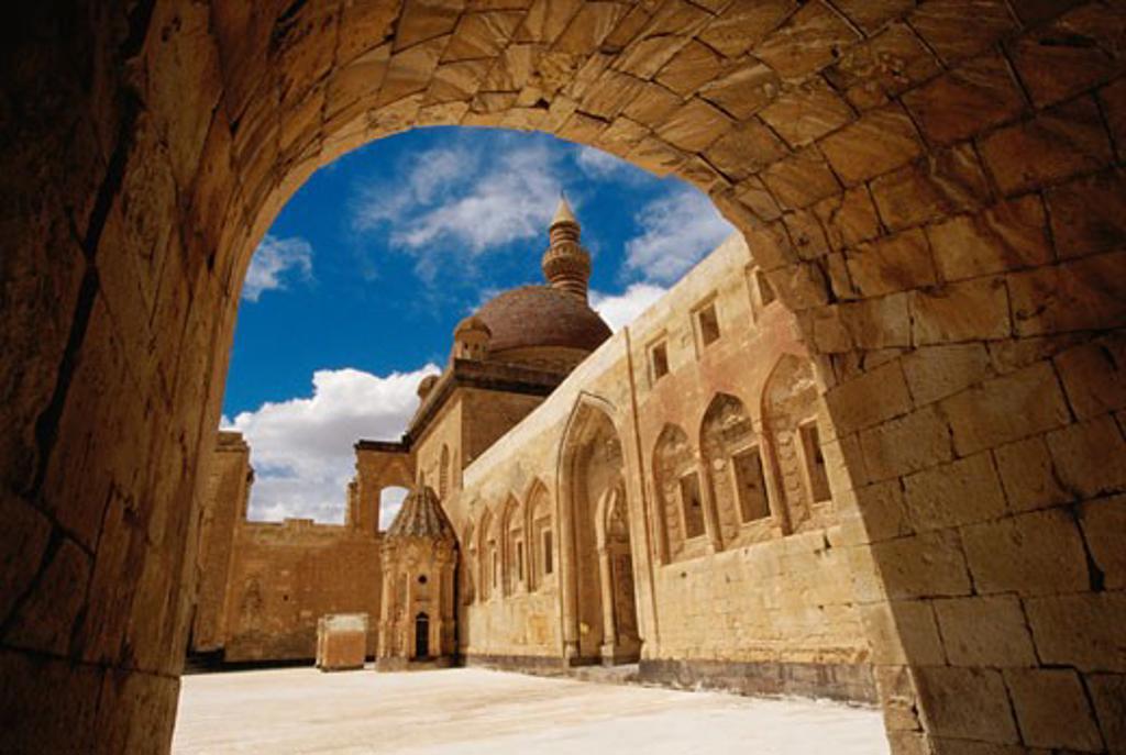 Ishak Pasha Palace Dogubeyazit Turkey : Stock Photo