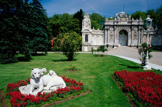 Dolmabahce Palace, Istanbul, Turkey : Stock Photo