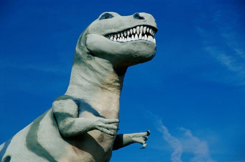 Stock Photo: 105-W2425 Claude Bells Dinosaurs, Cabazon, California, USA