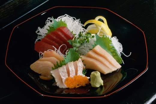 Close-up of Sushi in a plate : Stock Photo