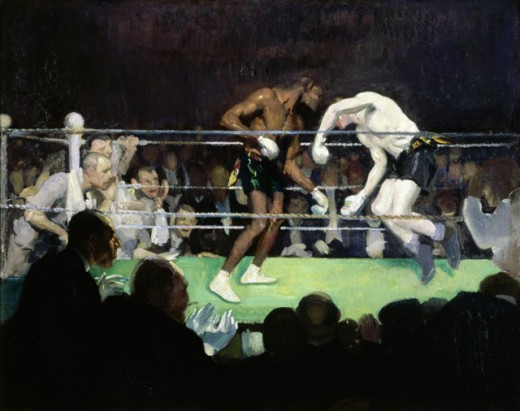 Stock Photo: 1060-174 The Boxing Match
