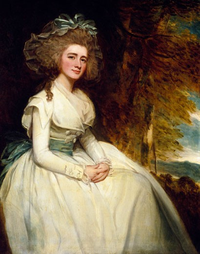 Stock Photo: 1060-314 Susannah Lee Acton, 1786-87, George Romney (1734-1802 British), The Huntington Library, Art Collections, and Botanical Gardens, San Marino, California