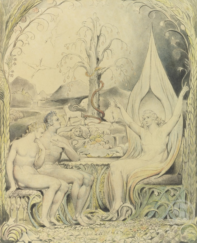 Raphael Warns Adam and Eve