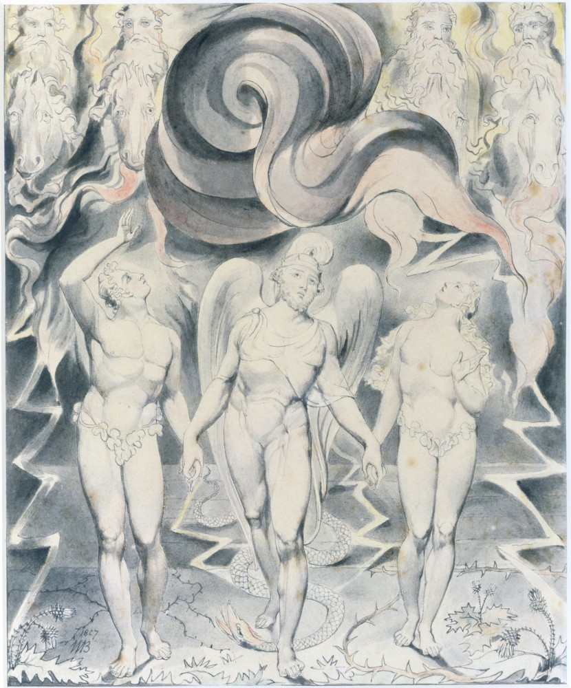 Stock Photo: 1060-347 Satan Calling up his Legions