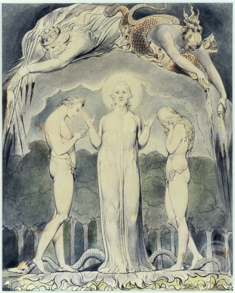 "Stock Photo: 1060-362 The Judgement of Adam and Eve: ""So Judged He Man""