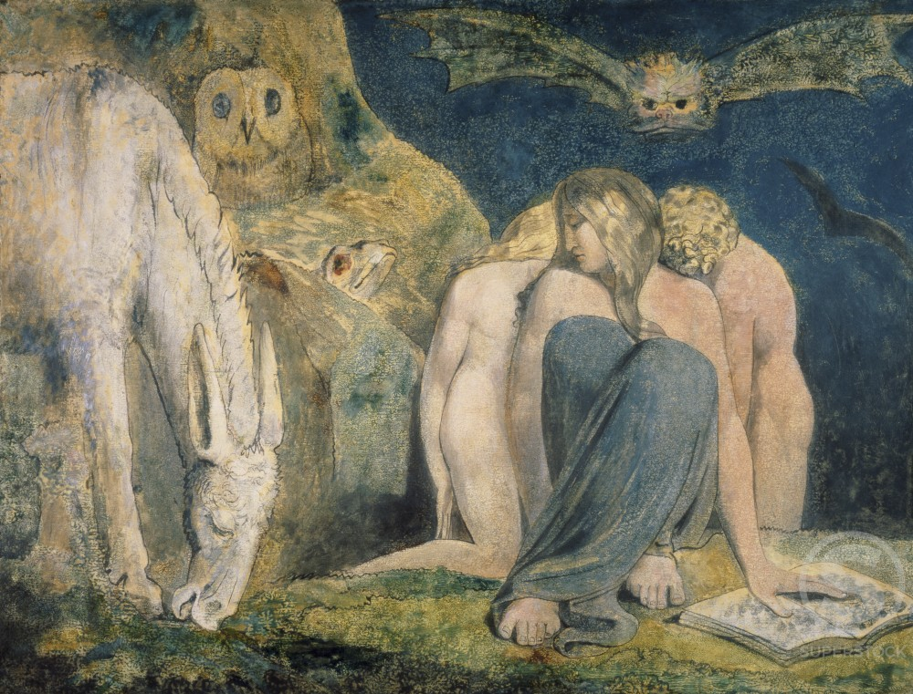Stock Photo: 1060-369 Hecate or The Night of Enitharmon's Joy 