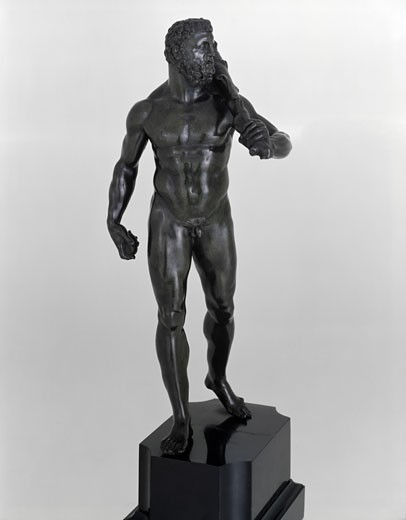 Hercules Bartolomeo Ammanati (1511-1592 Italian) Bronze The Huntington Library, Art Collections and Botanical Gardens, San Marino, CA : Stock Photo