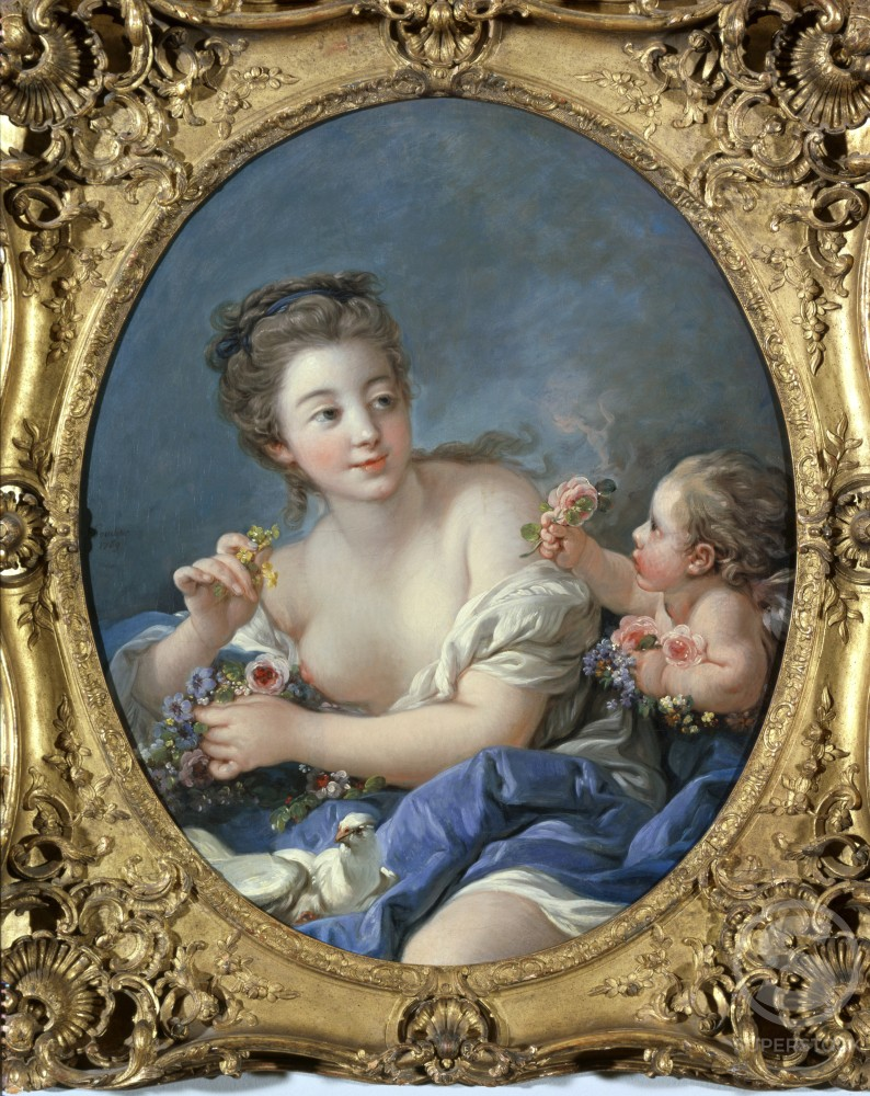 Stock Photo: 1060-462 Venus and Cupid