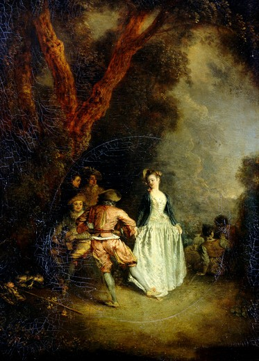 Stock Photo: 1060-512 Country Dance
