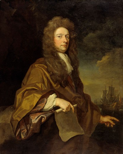 Stock Photo: 1060-526 Sir William Robinson 1683 Godfrey Kneller (1646-1723 British) Oil On Canvas The Huntington Library, Art Collections and Botanical Gardens, San Marino, CA