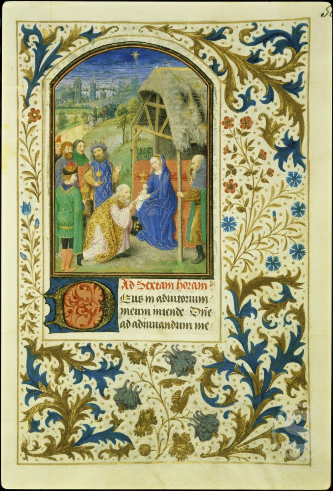 The Adoration of the Magi : Book of Hours