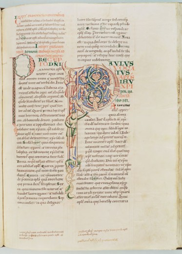Stock Photo: 1060-618 Ambrosiaster, Commentary on the Pauline Epistles