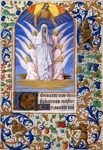 Stock Photo: 1060-656 Assumption of the Virgin