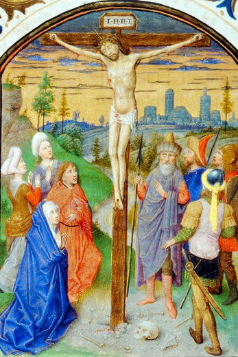 Stock Photo: 1060-689 The Crucifixion - Detail