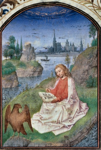 St. John on the Isle pf Patmos-Detail