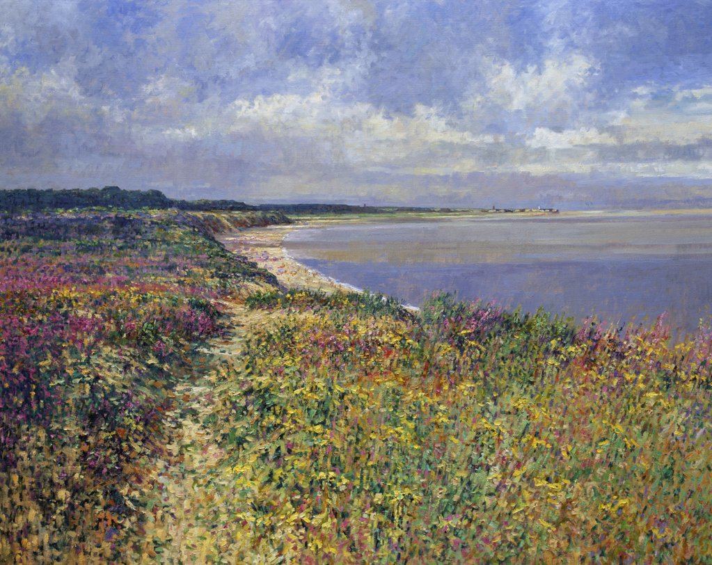 Stock Photo: 1061-18010 On the Heath, Minsmere Cliffs, Minsmere Haven,