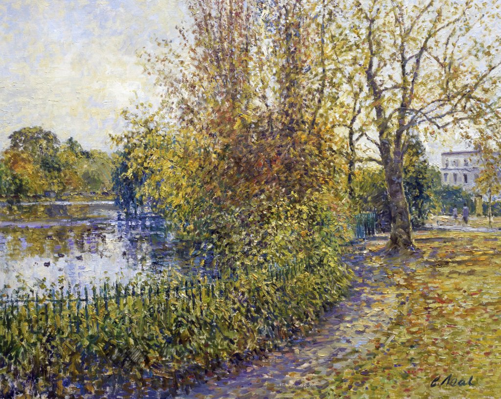 Stock Photo: 1061-18203 Pittville Park (Morning, November), Fairford, Gloucestershire