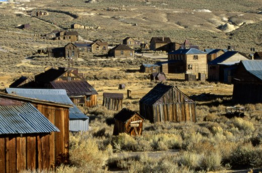 Stock Photo: 1070-579 Bodie State Historic Park