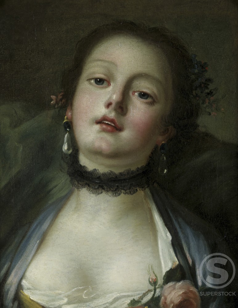 Stock Photo: 1075-116 Portrait of a Lady