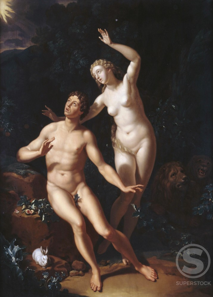 Stock Photo: 1075-203 Adam and Eve 