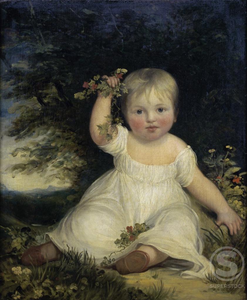 Miss Reveley John Hoppner (1758-1810/British)  The Cummer Museum of Art and Gardens, Jacksonville, Florida  : Stock Photo