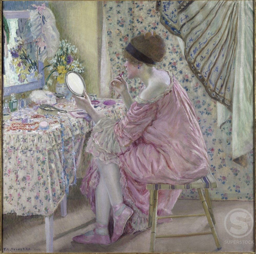 Stock Photo: 1075-251 Before Her Appearance 