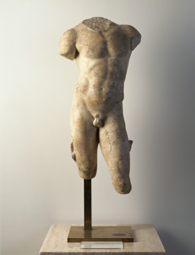 Stock Photo: 1075-254 Figure Of Youth