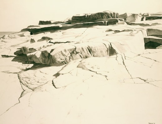 Stock Photo: 1075-270 Near Andrew's Point, Cape Ann