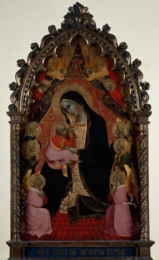 Stock Photo: 1075-331 Madonna Of Humility 